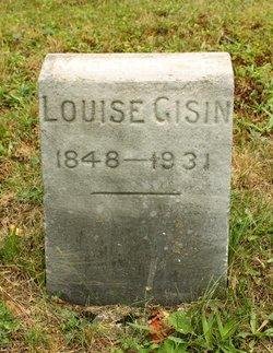 Louise Augusta <I>Margraff</I> Gisin