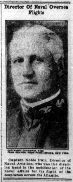 RADM Noble Edward Irwin