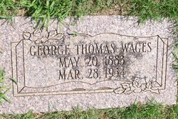 George Thomas Wages
