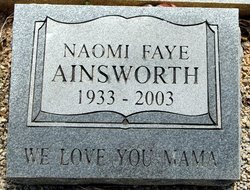 Naomi Faye Ainsworth