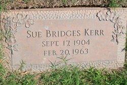 Sue <I>Bridges</I> Kerr