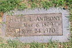 Hattie E. Anthony