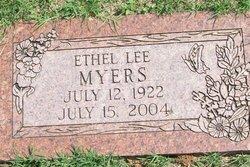 Ethel Lenora <I>Lee</I> Myers