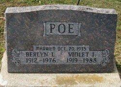 Violet I. <I>Fitzgerald</I> Poe