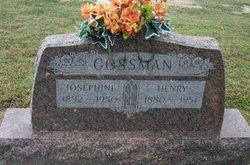 Josephine <I>Stroud</I> Gossman