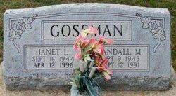 Janet Louise <I>Higgins</I> Gossman