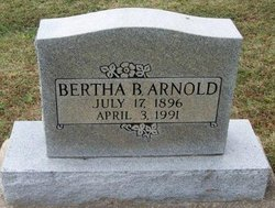 Bertha B. Arnold