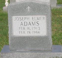 Joseph Elmer Adams