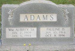 William Aubrey Adams, Sr