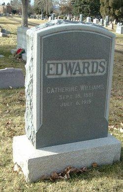 Catherine <I>Williams</I> Edwards