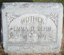 Emma Dorothea <I>Bergman</I> Behm