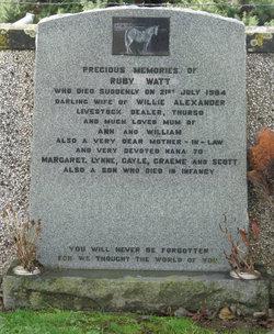 Mrs Ruby <I>Watt</I> Alexander