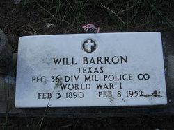 Will Barron
