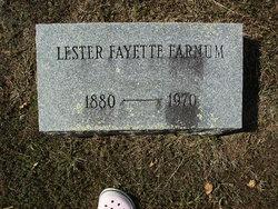 Lester Fayette Farnum