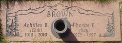 "Phoebe Elizabeth ""Kay"" <I>Brown</I> Brown"