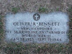 Pvt Oliver Ralph Bennett