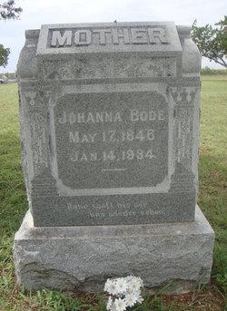 Johanna <I>Walters</I> Bode