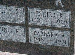 Barbara Ann <I>Fogler</I> Alexander