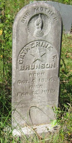 Catherine E. <I>Davison</I> Brunson