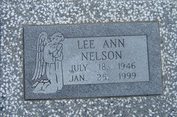 Lee Ann <I>Spracklin</I> Nelson