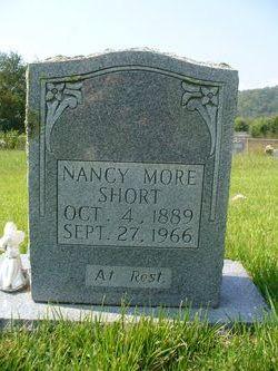 Nancy <I>Moore</I> Short