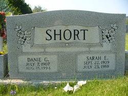 Sarah E. <I>Carpenter</I> Short