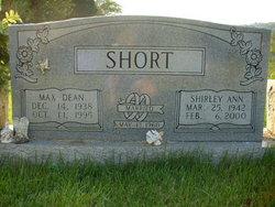 Shirley Ann <I>Hodge</I> Short