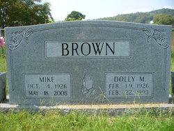 Dolly <I>Munsey</I> Brown