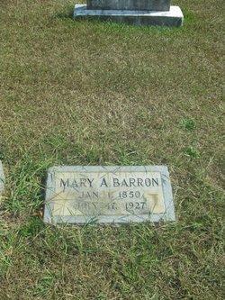 "Mary Antoinette ""Mollie"" <I>Cowsert</I> Barron"