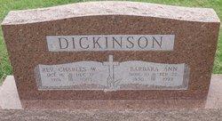 Barbara Ann <I>Smith</I> Dickinson