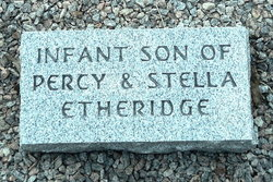 Infant Son Etheridge
