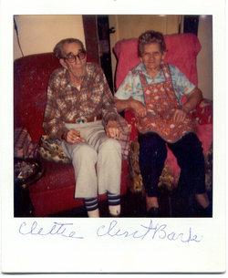 "Cletha Pearl ""Clettie"" <I>Howard</I> Barker"