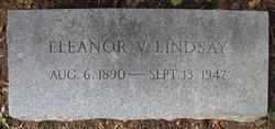 Florence Eleanor <I>Vliet</I> Lindsay
