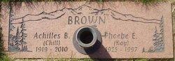 """Achilles Boyce """"Jim"""" Brown"""