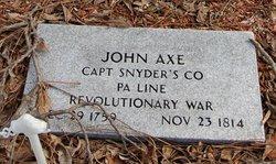 Capt John Axe