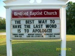 Birdford Baptist Church Cemetery