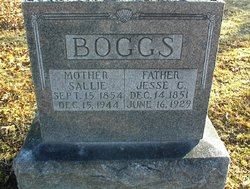 Sallie <I>Stewart</I> Boggs