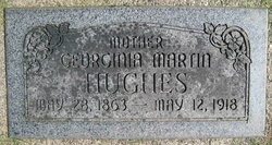Georgina <I>Martin</I> Hughes
