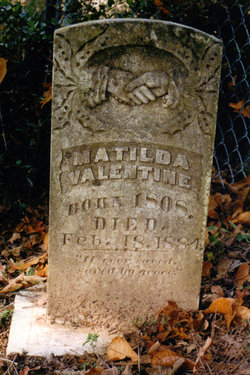 Matilda <I>West</I> Valentine