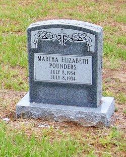 Martha Elizabeth Pounders