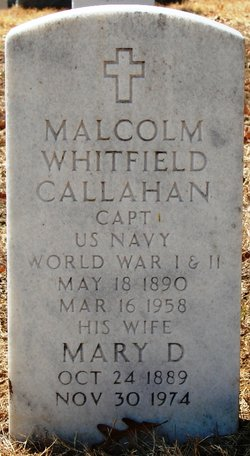 Malcolm Whitfield Callahan