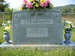 Mary E. <I>McDaniel</I> Steadman
