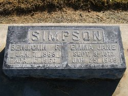 Emma Jane <I>Wacaser</I> Simpson