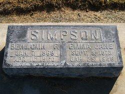 Benjamin Frank Simpson