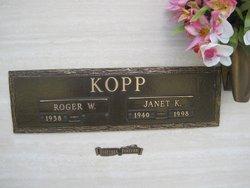 Roger W Kopp