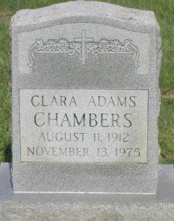 Clara Adams Chambers