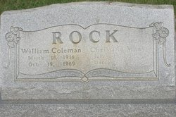 William Coleman Rock