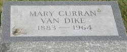 Mary Curran Van Dyke