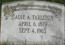 Sadie A. Tarleton