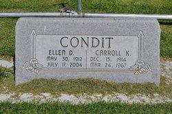 Carroll Kenneth Condit